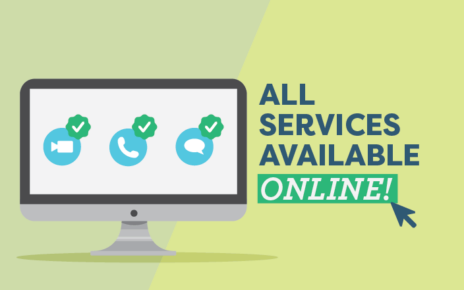 Services Update - Online consultations